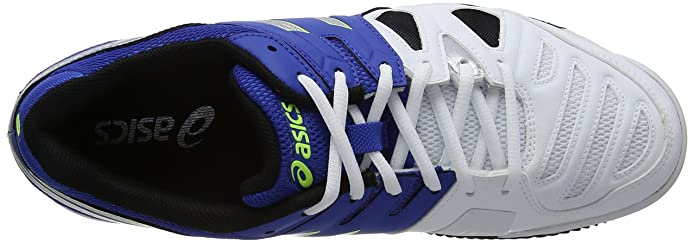 ASICS Gel-Game 5 Clay, Zapatillas de Deporte Exterior para Hombre, Azul (Blue/Silver/Flash Yellow 4293), 47 EU: Amazon.es: Zapatos y complementos