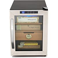 Whynter Stainless Steel 250-Cigar Cooler Humidor (1.2 Cubic Feet)