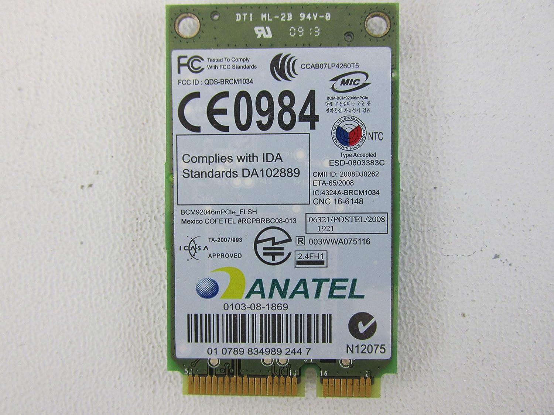 Dell Latitude E5400 E6400 E6500 Wireless 370 Bluetooth PCI-E Mini-Card P560G