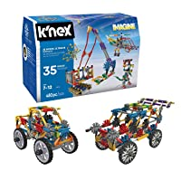 K'NEX – 35 Model Building Set – 480 Pieces – For Ages 7+ Construction Education...