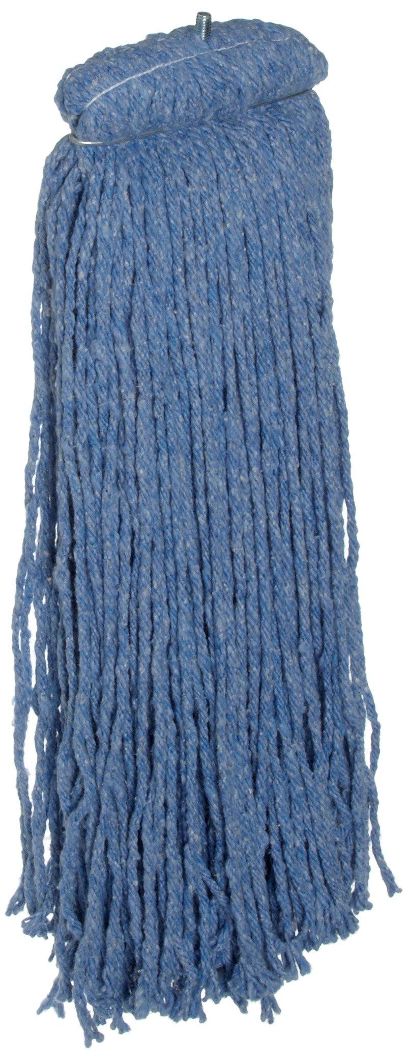 Rubbermaid Commercial Cut End Mop, Blue,FGF56800BL00