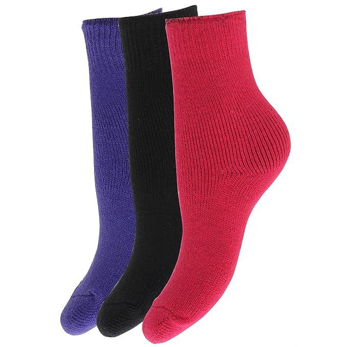 Severyn Calcetines térmicos de invierno para niños/niñas (pack de 3) (EUR