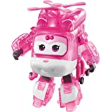 """Super Wings - Limited Edition, X-Ray Series, Transforming Dizzy Toy Figure, Helicopter, Bot  , 5"""" Scale"""