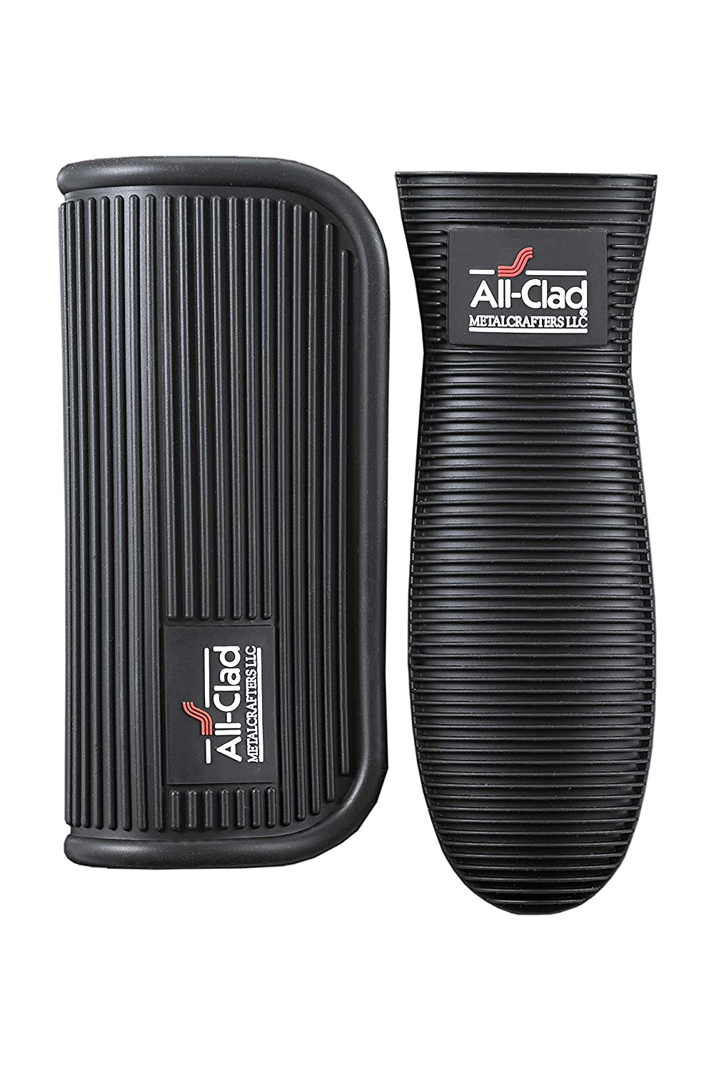 All-Clad Textiles 89497A Cookware Grip, 2-Pack, Black