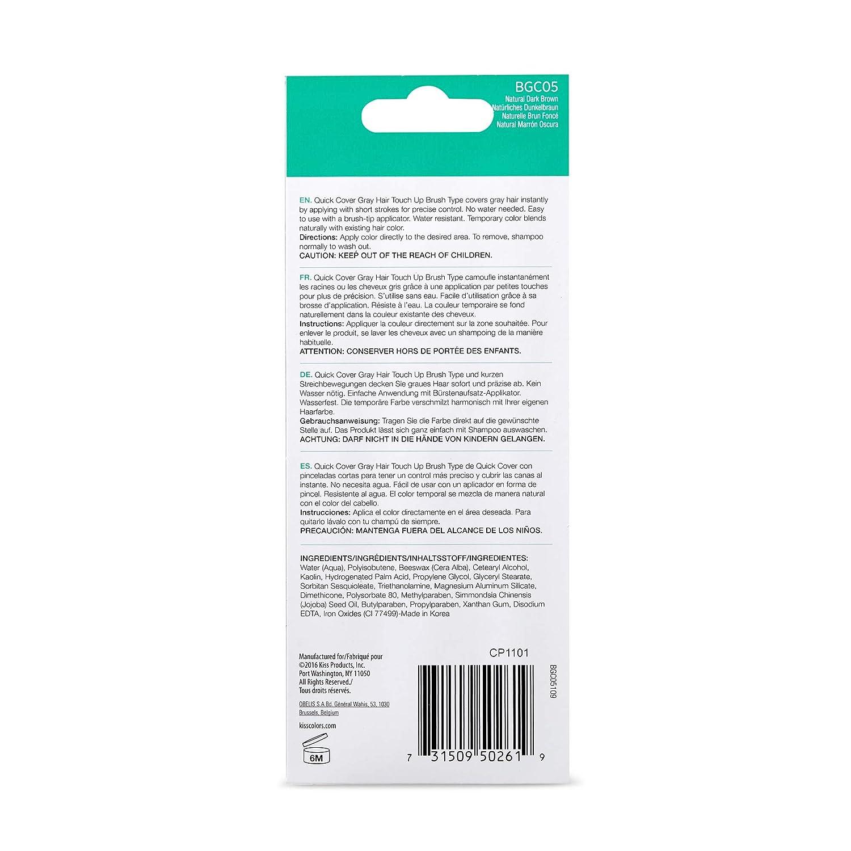 Amazon.com: Color de pelo Touch Up Stick cepillo para polvo ...