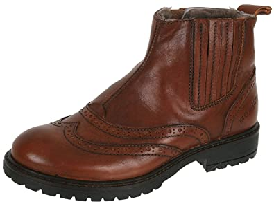 quality design 44aac 31f8c Momino 1001M Chelsea Boots Stiefeletten Unisex Lammfell ...
