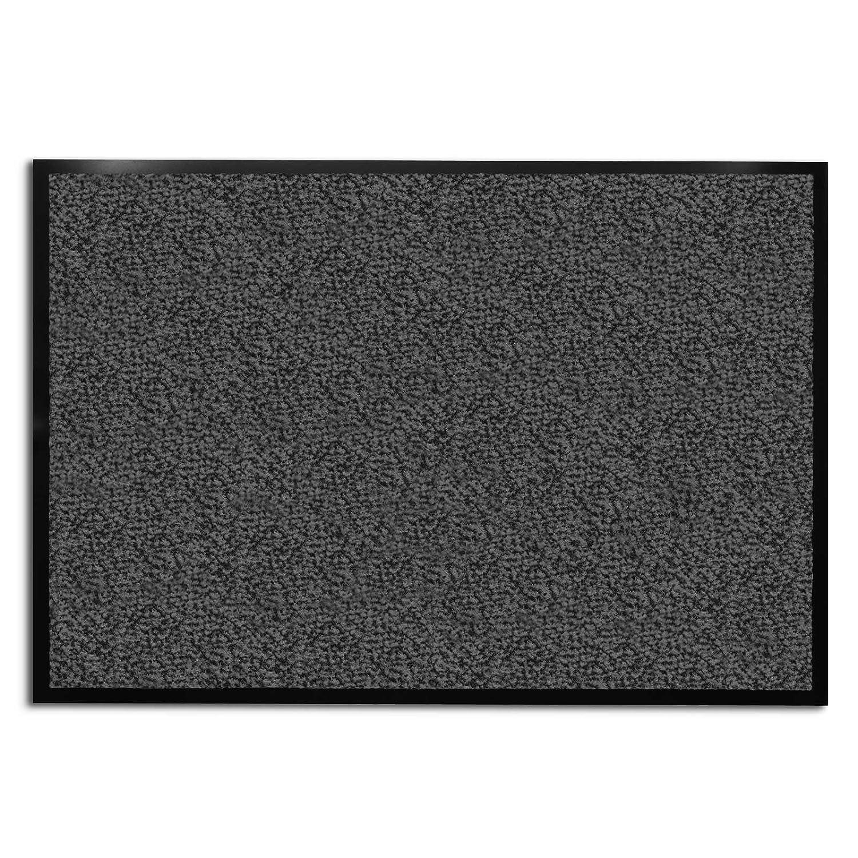 "Amazon casa pura Carpet Entrance Mat Gray Mottled 24"" x"