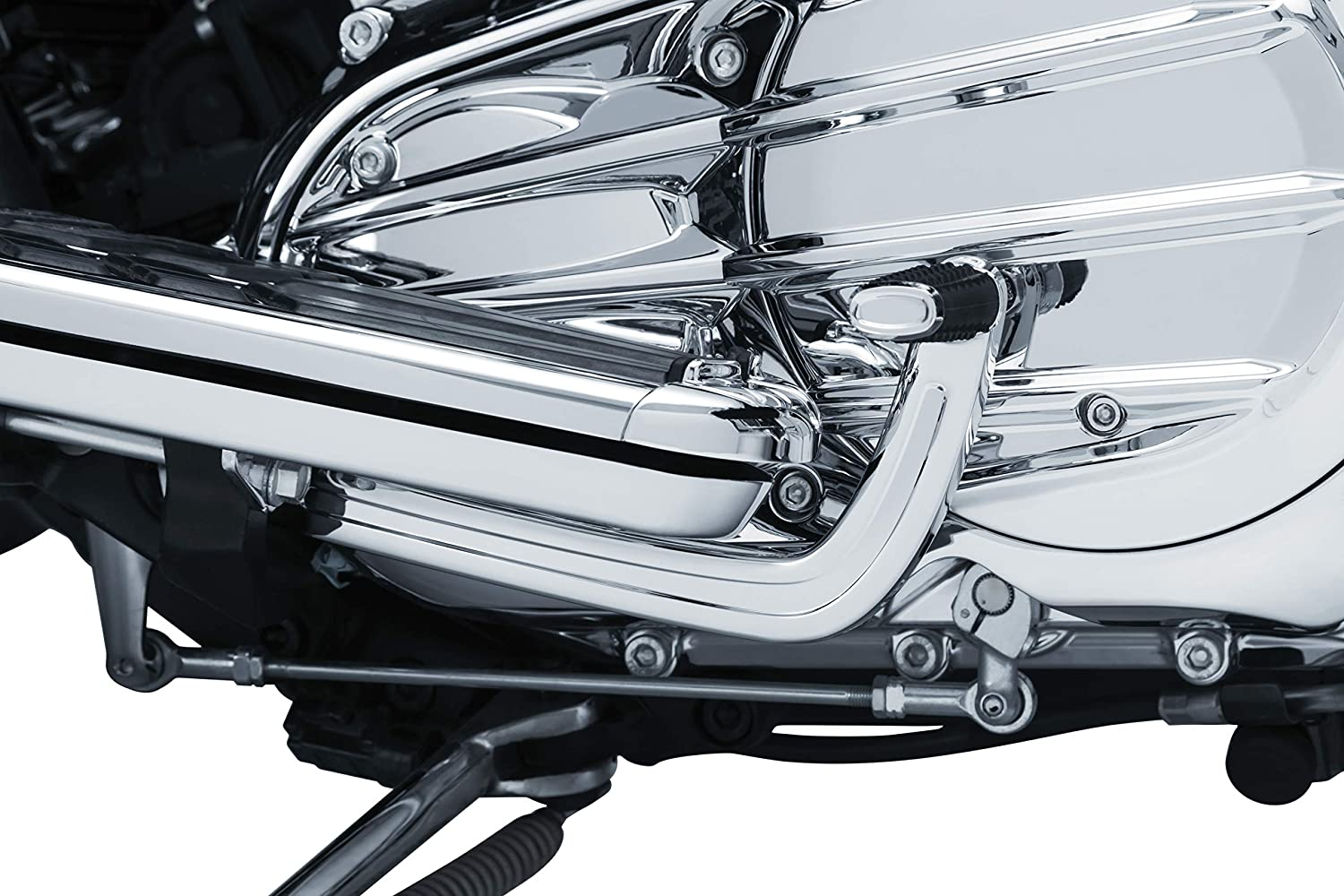 Chrome Heel Shift Lever for 2014-19 Indian Motorcycles Kuryakyn 5649 Motorcycle Foot Control Component