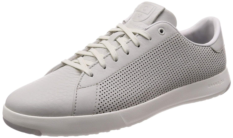 C28870 Chalk Tumbled Perf Cole Haan Men's Grandpro Tennis Tennis shoes