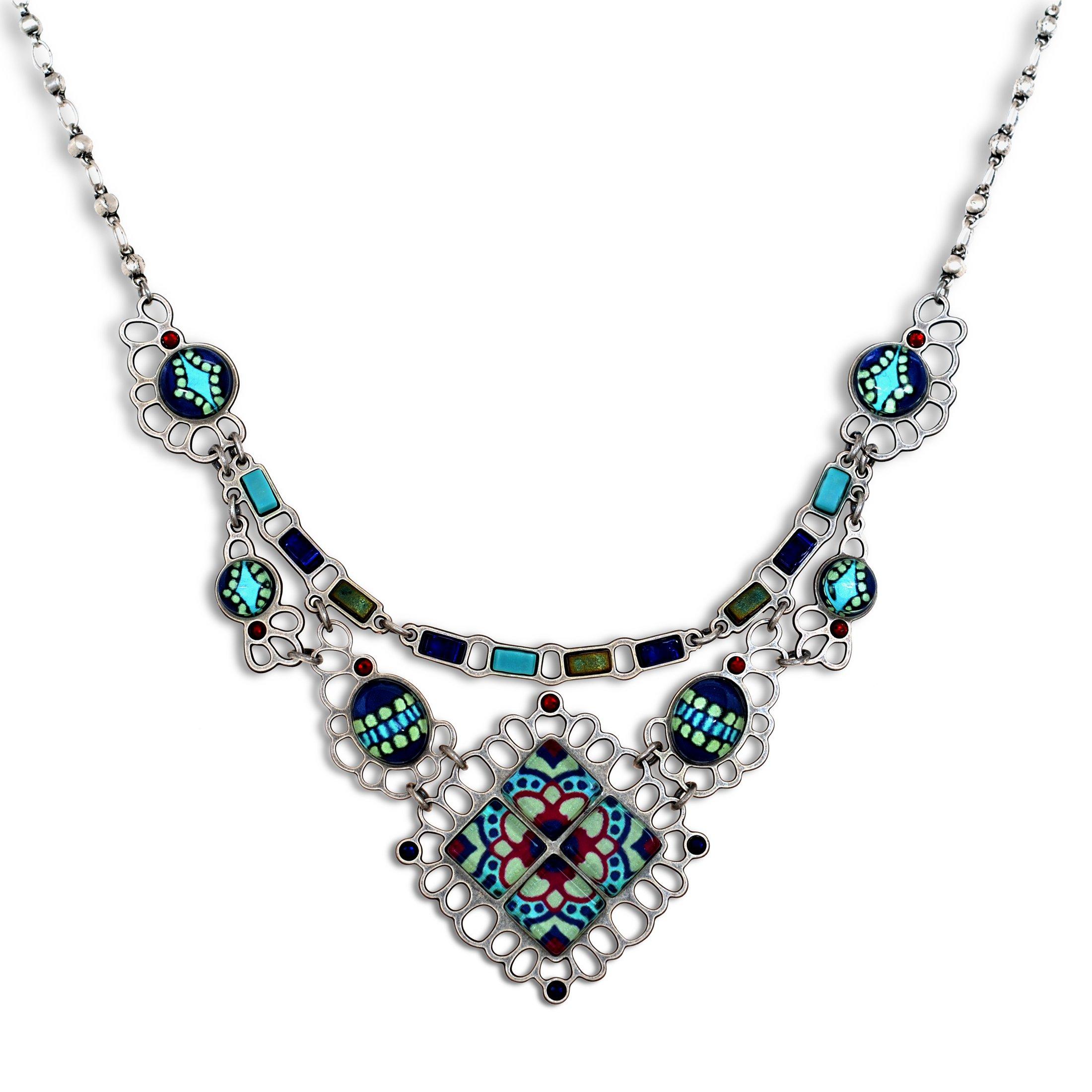The Artazia Collection Artazia's Aegean-Sea Fashion Necklace, Spring-Summer - N4509