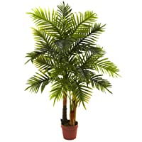 Deals on Nearly Natural Real Touch 4 ft. Areca Palm Tree