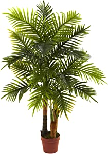 Nearly Natural 5424 4ft. Areca Palm Tree (Real Touch)