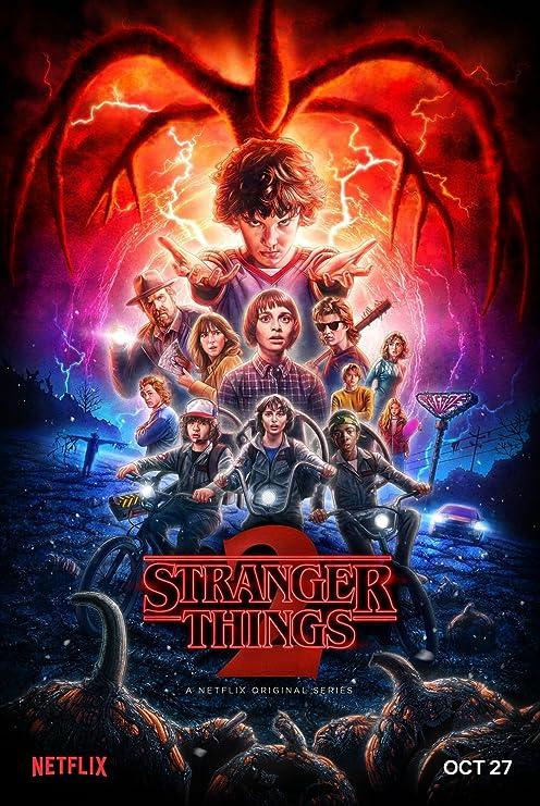 Stranger Things Movie Poster 70 X 45 cm