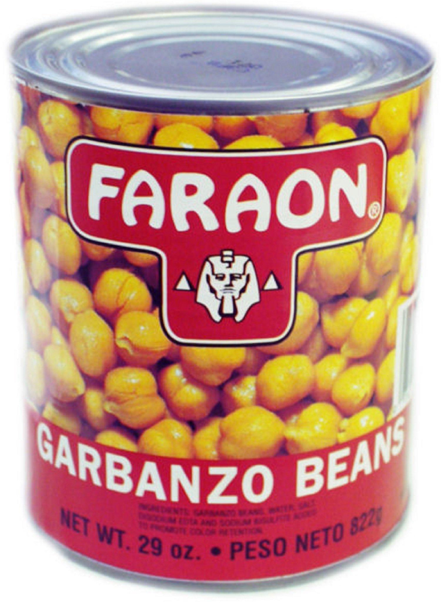 FARAON Garbanzos, 29 Ounce (Pack of 12)
