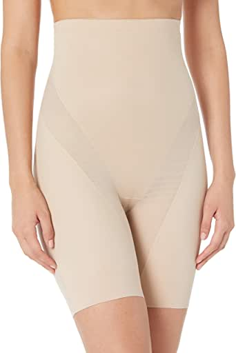 Naomi & Nicole Women's Cool and Comfortable Hi-Waist Thigh Slimmer Shapewear