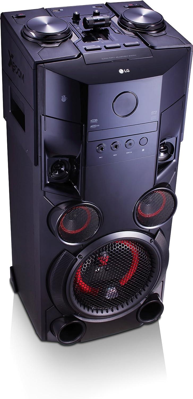LG OM5560 - Microcadena (500 W, con Bluetooth 4.0 y USB ...