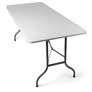 Tavolo Pieghevole da Giardino Bianco perfetto come Tavolo da ...