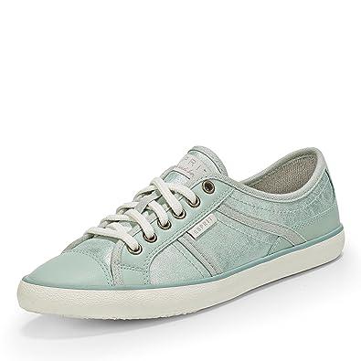 ESPRIT Damen Sneaker NV 016EK1W004 Grün 53573