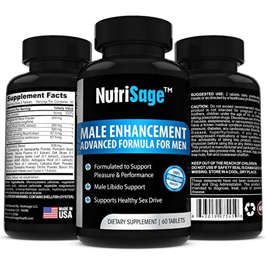 Herbal supplements for male sexuality
