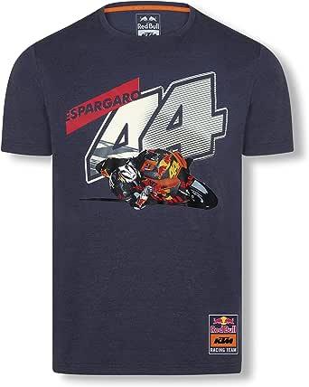 Red Bull KTM Pol Espargaro 44 T-Camisa, Azul Hombres Camisa Manga Larga, KTM Factory Racing Original Ropa & Accesorios