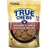True Chews Natural Dog Treats Chicken & Apple Sausage Recipe, 12 oz