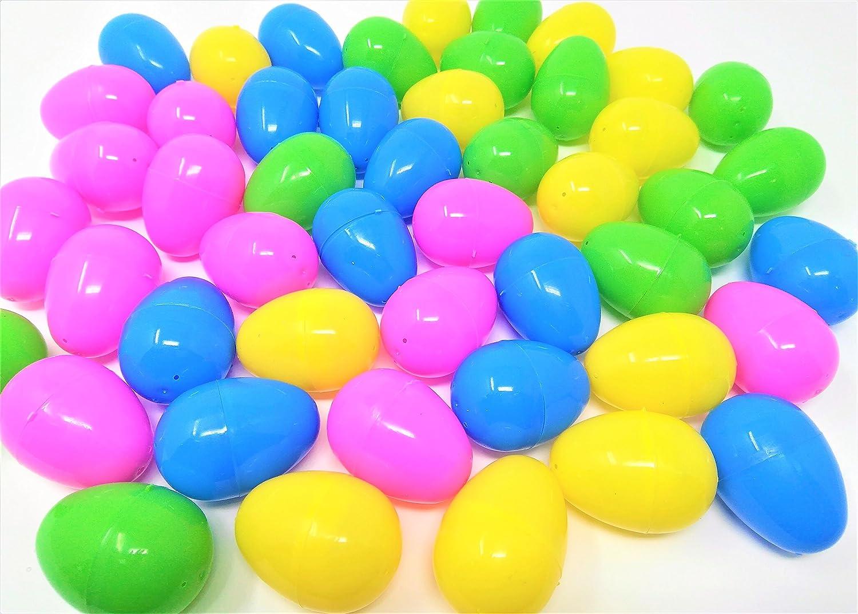 48 Filler Fillable Eggs, Ideal For: Scavenger / Treasure / Easter Hunt You Love a Bargain