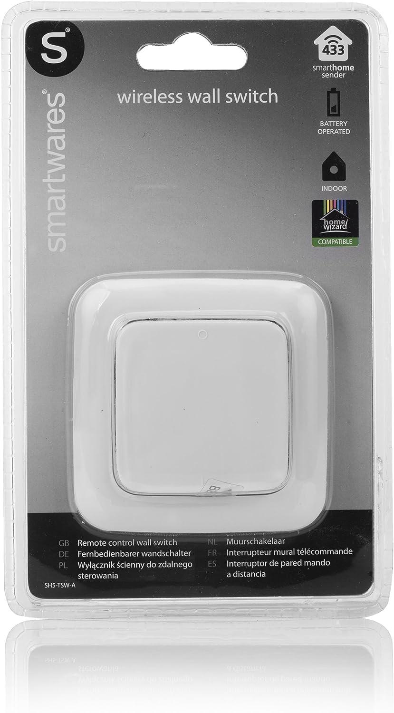 SMARTWARES SH5-TSW-A Fernbedienbarer Funk-Wandschalter