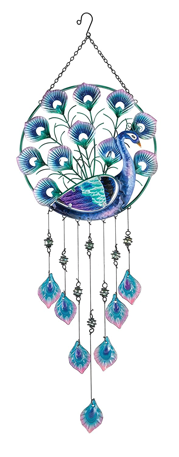 Amazon.com : Regal Art U0026 Gift Peacock Circle Hanging Decor : Garden U0026  Outdoor