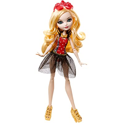 Ever After High Mirror Beach Apple White Doll: Toys & Games