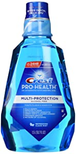 Crest Pro-Health Multiprotection Rinse-Clean Mint-50.7 oz, 1.5liter