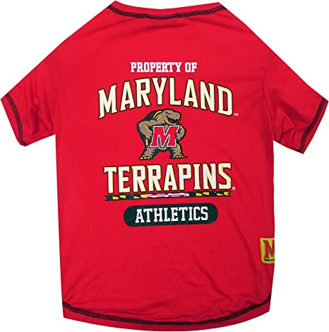 Durable SPORTS PET TEE COLLEGE PET OUTFIT 5 Sizes available in 50+ SCHOOL TEAMS COLLEGIATE DOG SHIRT DOG TEE SHIRT NCAA T-SHIRT Football /& Basketball DOGS /& CATS SHIRT
