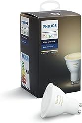 Philips Hue White Ambiance GU10 LED Spot Erweiterung, dimmbar, alle Weißschattierungen,,steuerbar via App, kompatibel mit Amazon Alexa (Echo, Echo Dot)