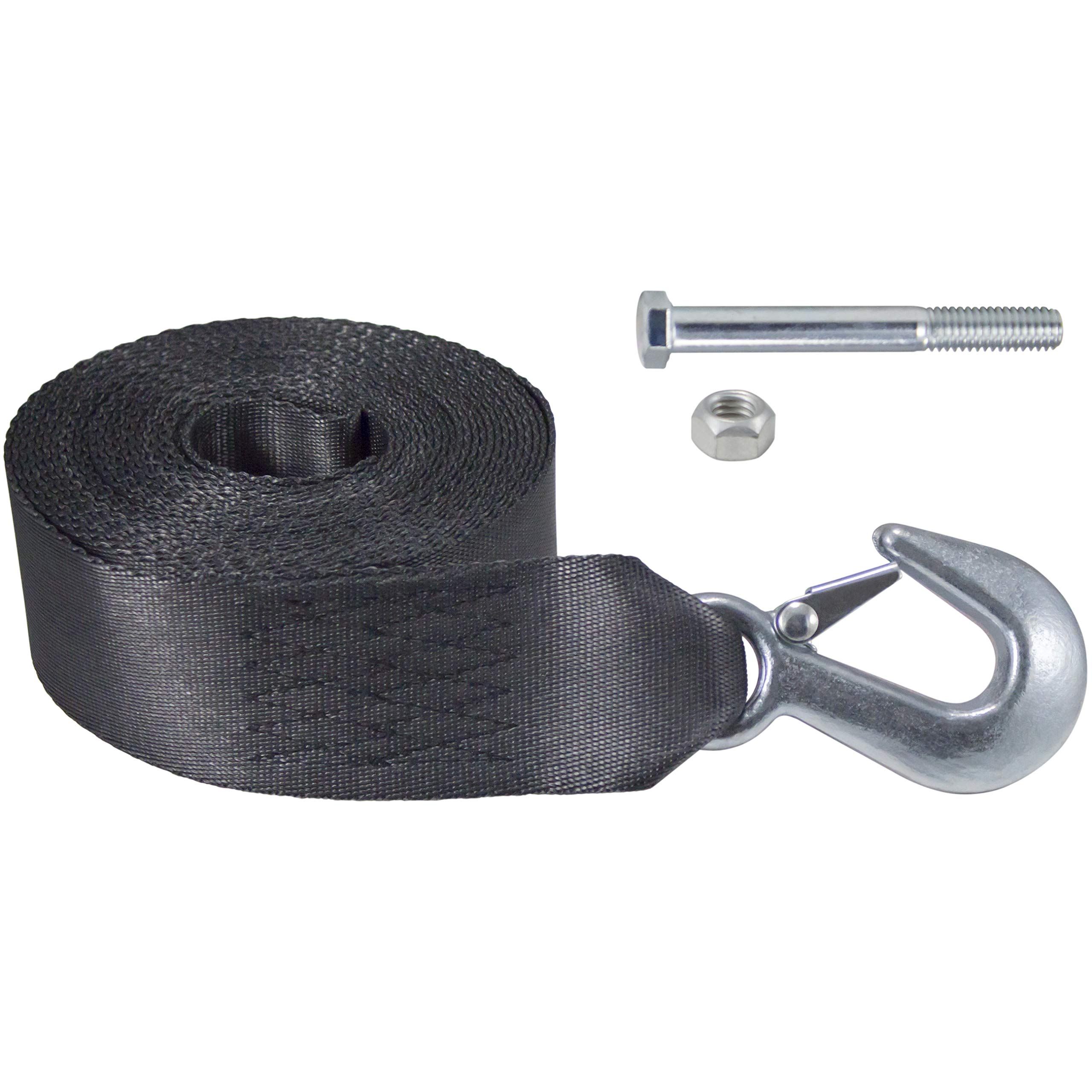 Dutton-Lainson Company 6542 20'/4800 lbs Winch Strap with Hook by Goldenrod