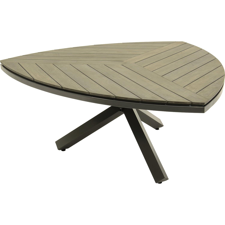 Tisch tafel esstisch gartentisch dock dreieckig antharzit for Esstisch hochwertig