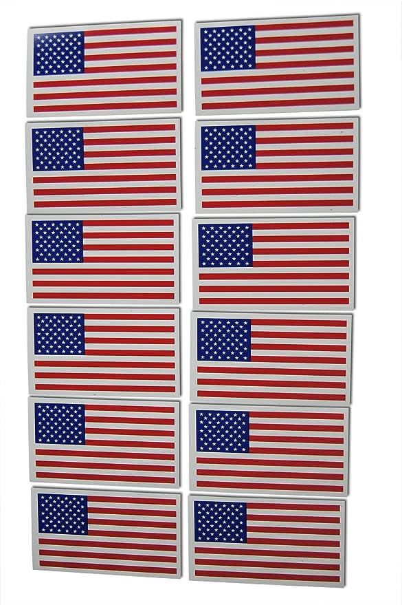 Amazon.com: Juego de imanes militares patrióticos de bandera ...