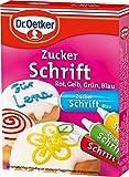 Dr.Oetker Zuckerschrift 4 Farben 100g