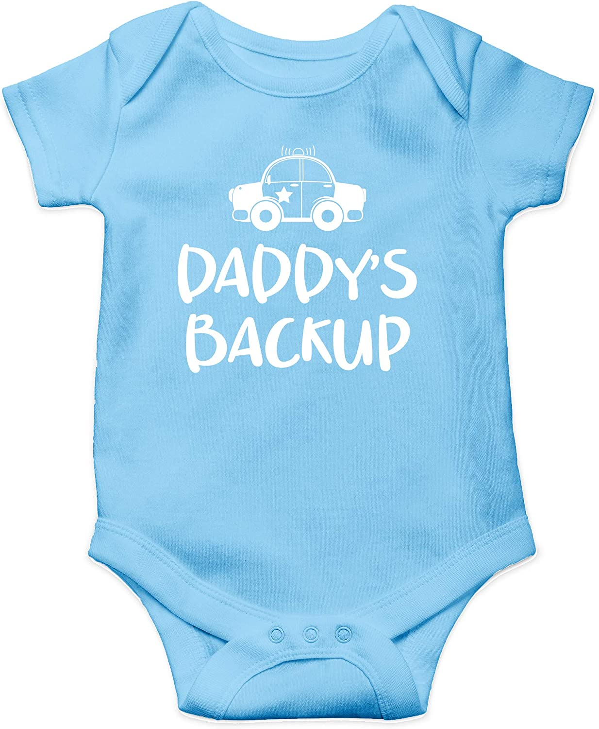 My Dad is My Super Hero and He Can Arrest Your Dad Cute One-Piece Infant Baby Bodysuit Daddys Backup