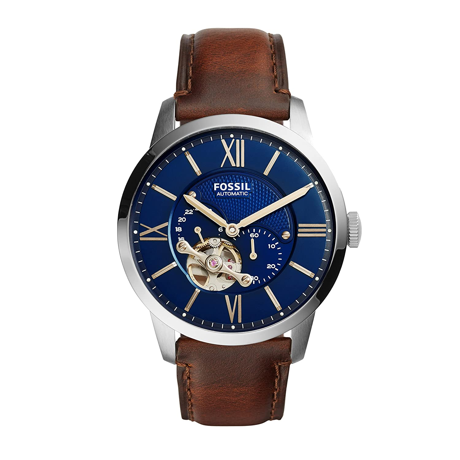 Fossil Townsman Analog Blue Dial Men's Watch - ME3110