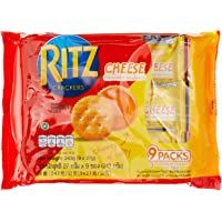 Ritz Sandwich Cookies (Pack of 9 x 27g), Cheese, 243g