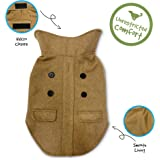 Pet Craft Supply Comfortable Stylish Soft Pea Coat Outdoor Jacket Sweater Clothes Warm Pup Dog Doggie Cat Shirt Winter Puppy