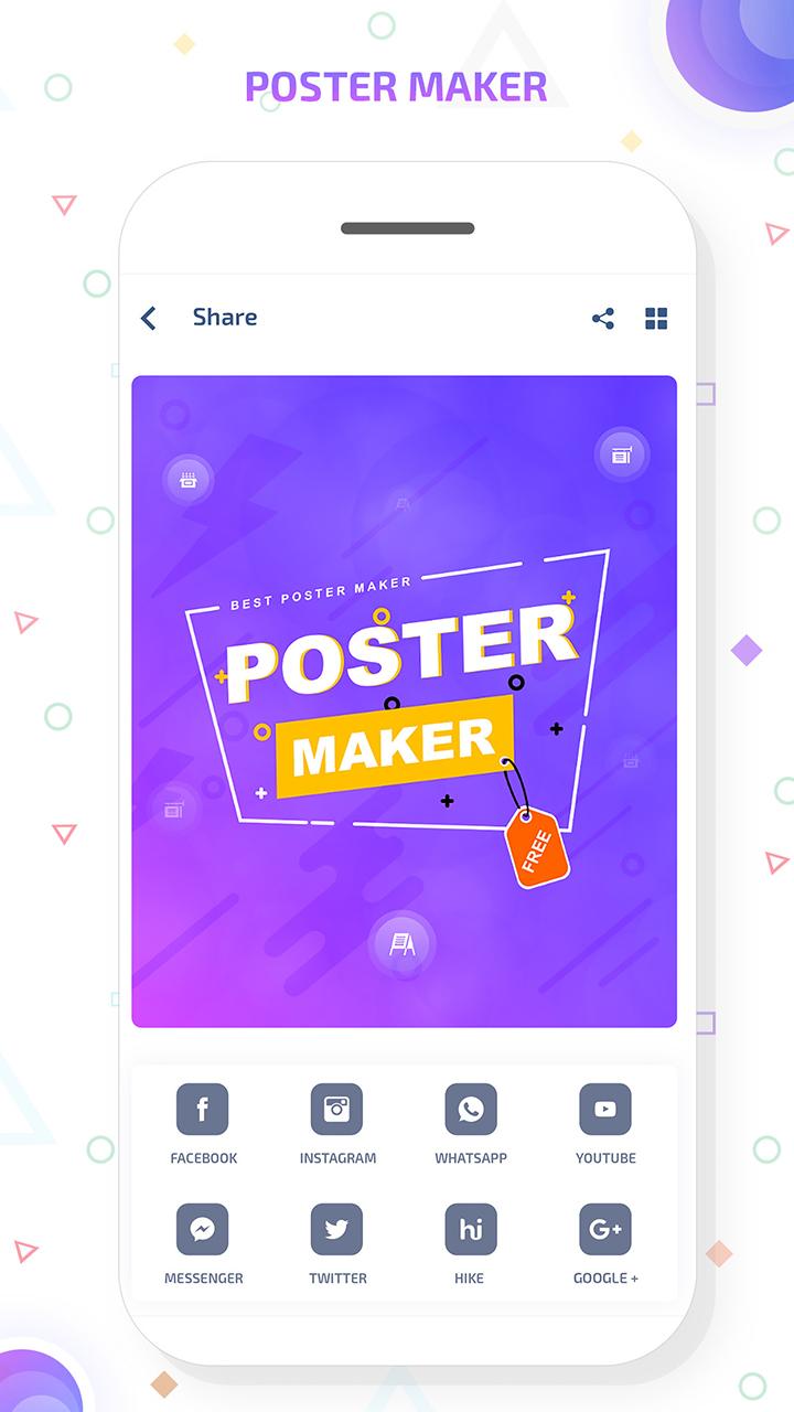 amazon com the poster maker flyer designer banner maker poster