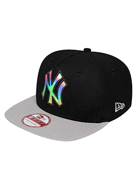 New Era Mujeres Gorras / Gorra Snapback Outline Shine NY Yankees ...