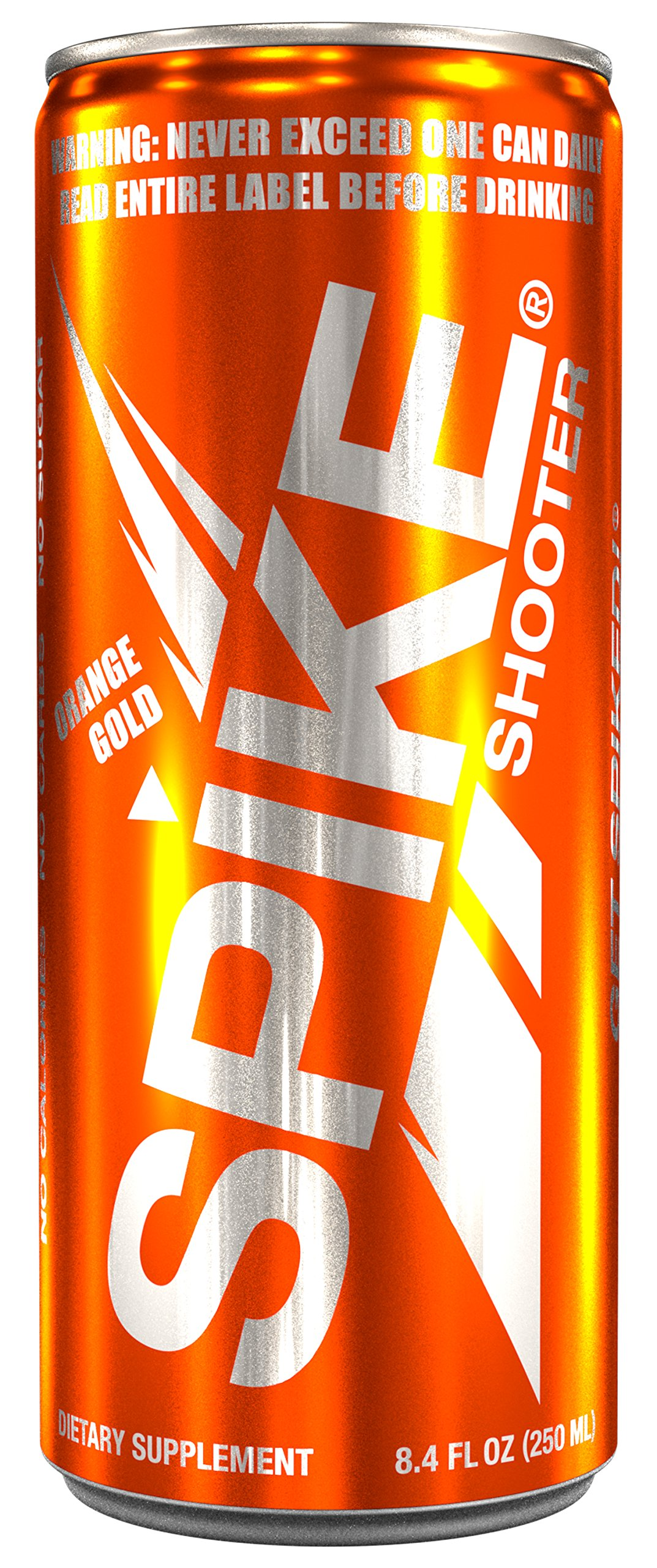 Spike Shooter Orange Gold - 24 (8.4 oz) by Spike (Image #1)