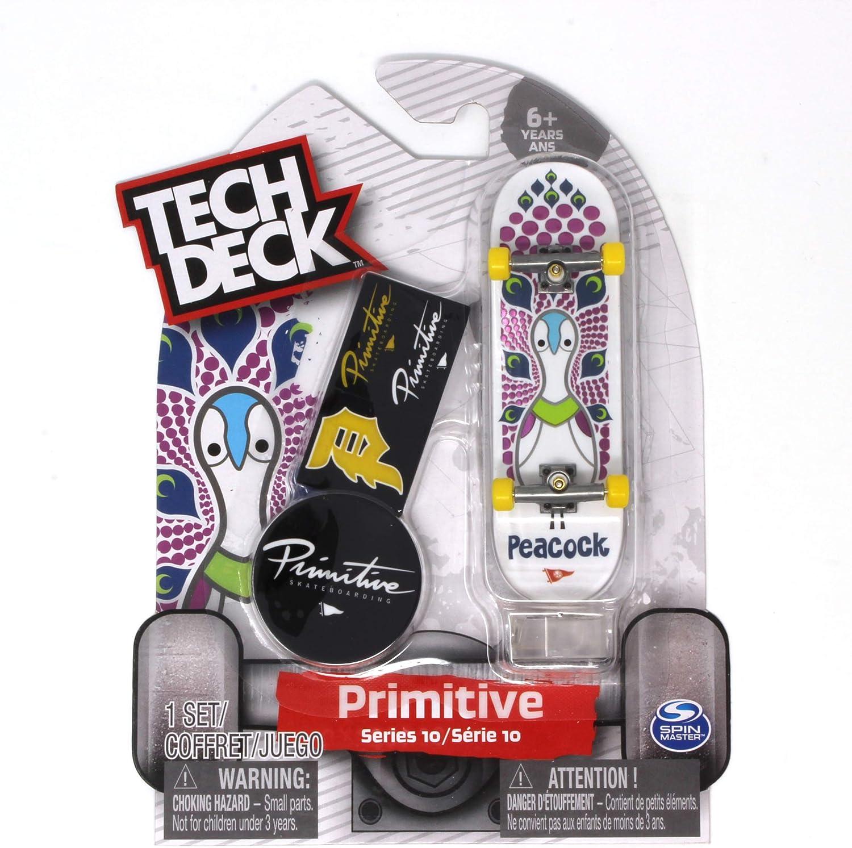 TECH DECK PRIMITIVE VILLANI Ultra Rare Series 12 Fingerboard Skateboard New