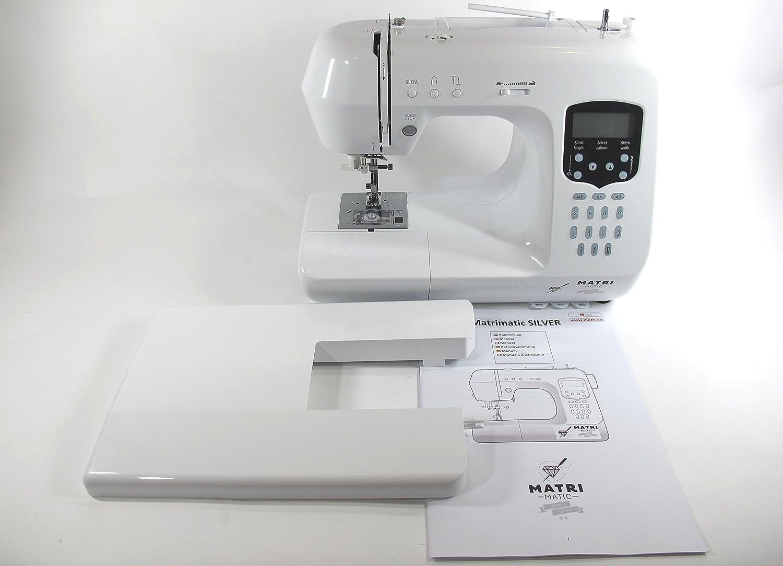 Máquina de coser -- Matrimatic Silver: Amazon.es: Hogar