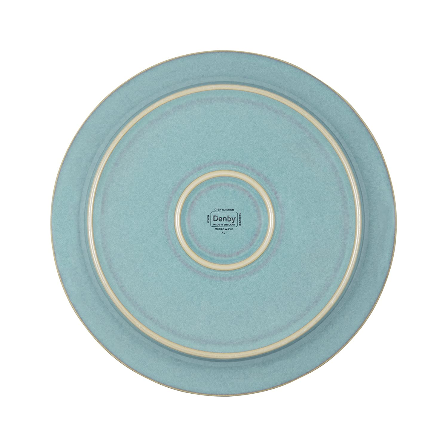 Amazon.com | Denby Azure Coast Dinner Plates Set of 4 Denby Dishes Accent Plates  sc 1 st  Amazon.com & Amazon.com | Denby Azure Coast Dinner Plates Set of 4: Denby Dishes ...