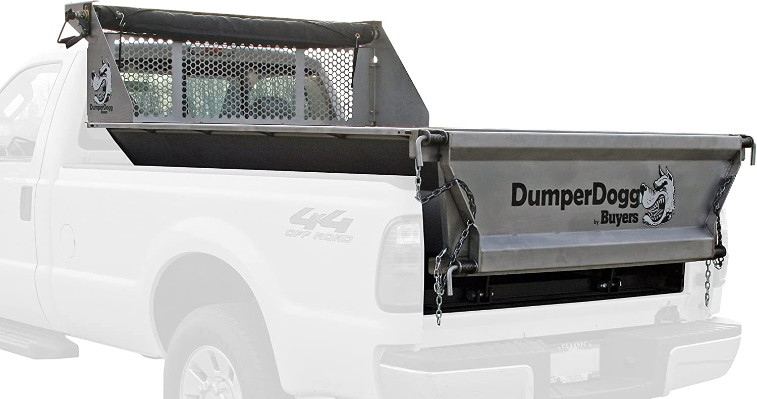 Buyers Products DumperDogg 5534006 Stainless Steel Pick-Up Dump Insert, 6 ft.
