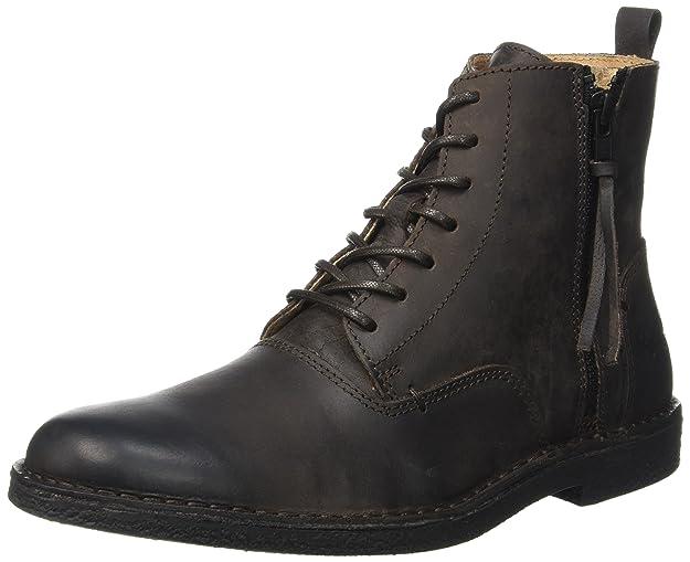 Kickers Orilegend, Zapatillas de Estar por Casa para Hombre, Marrón (Marron Foncé 92), 42 EU