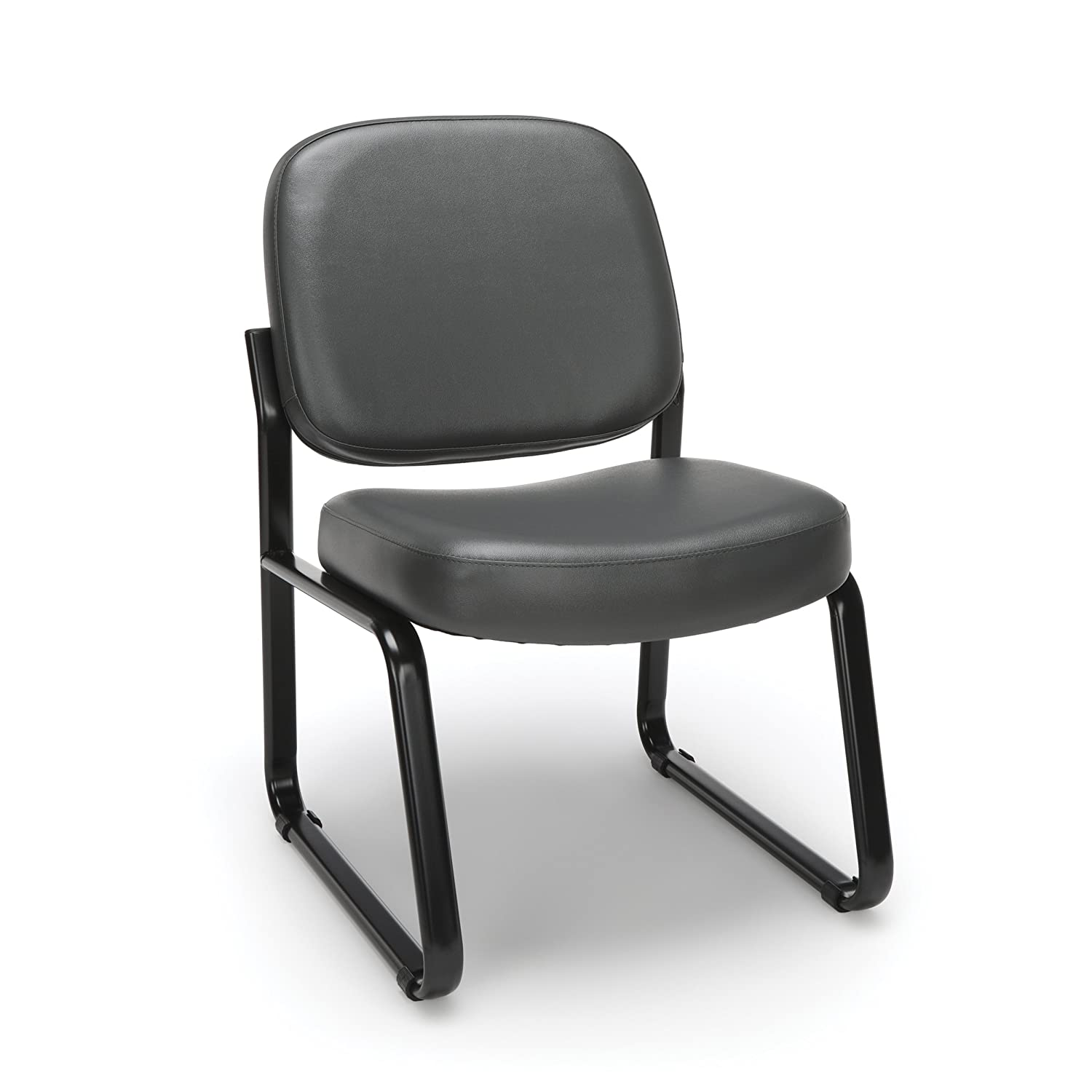 Amazon.com: OFM Armless Reception Chair - Anti-Microbial/Anti ...