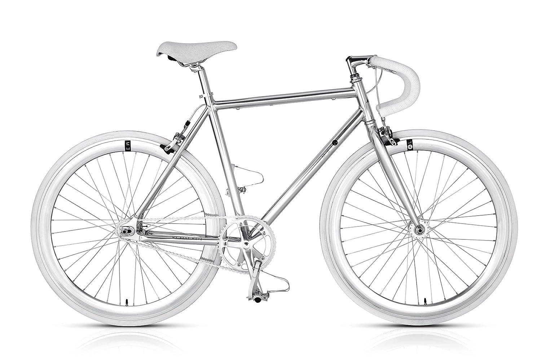MBM Nuda Bicicleta de piñón Fijo: Amazon.es: Deportes y aire libre